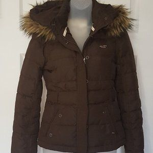 Hollister | Down Puffer Coat | Adult Small